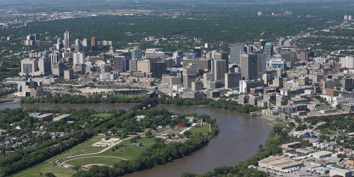 Aerial Views Of Winnipeg