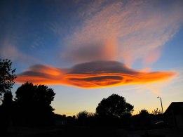 ufo clouds claifornia