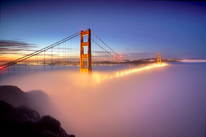 Fog at the Gate #1 - San Francisco