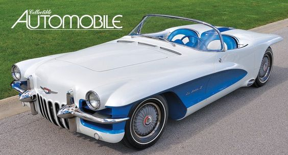 pin 1955 La Salle Roadster