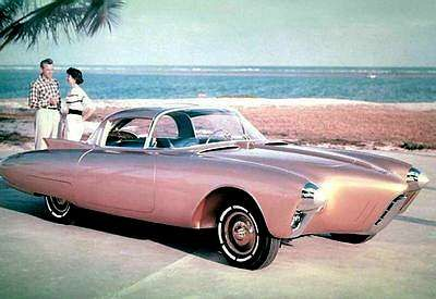 pin 1956 oldsmobile golden rocket concept
