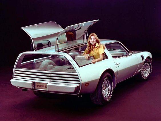 pin 1977 Pininfarina Pontiac Firebird Type K Kammback
