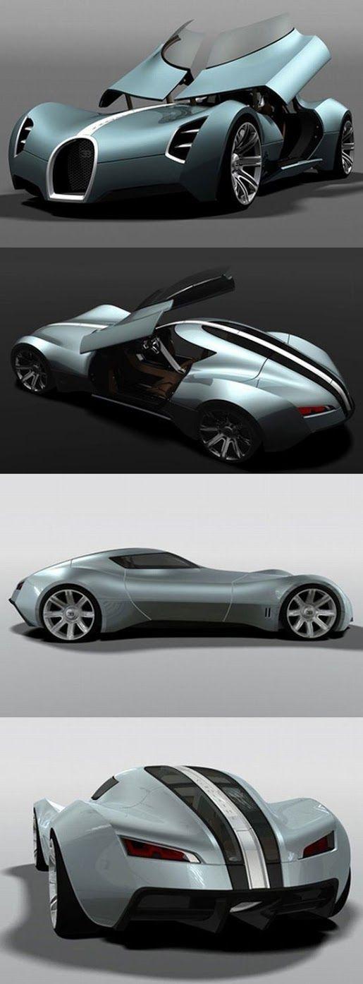 pin Concept car Bugatti Aerolithe