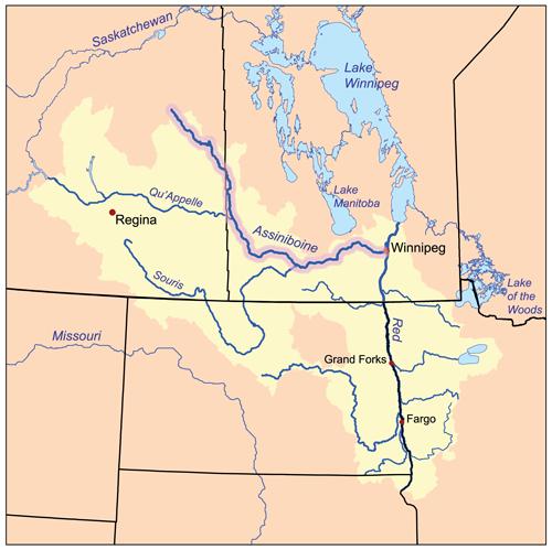 Assiniboinerivermap