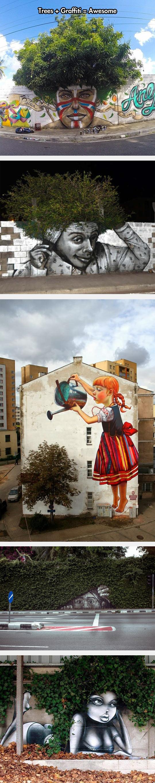 cool-tree-graffiti-hair-painting