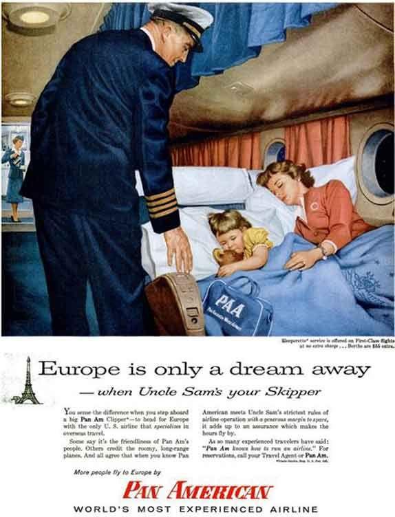 Vintage Airline Ads
